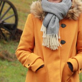 grande echarpe laine femme