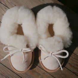 chaussons laine naturelle