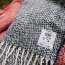 Echarpe laine chevron ESTREL HOME