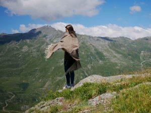 Plaid laine Montagne