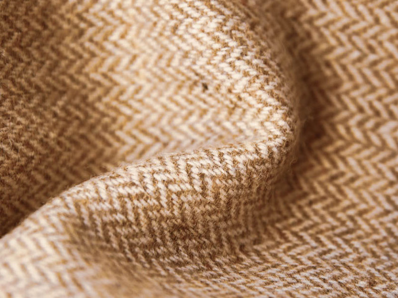écharpe laine beige
